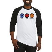 Peace Love Basketball Baseball Jersey