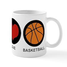 Peace Love Basketball Mug