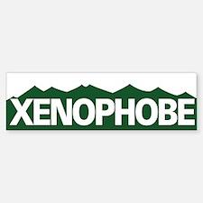XENOPHOBE Bumper Bumper Bumper Sticker