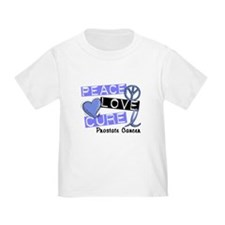 PEACE LOVE CURE Prostate Cancer T