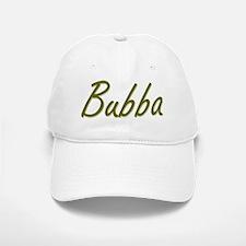 BUBBA 2-Tone Script Type Baseball Baseball Cap