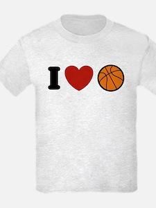 I Love Basketball T-Shirt