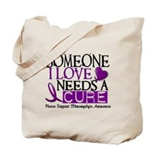 Needs A Cure FIBROMYALGIA Tote Bag