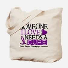 Needs A Cure FIBROMYALGIA Tote Bag