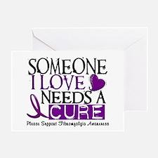 Needs A Cure FIBROMYALGIA Greeting Card