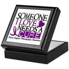 Needs A Cure FIBROMYALGIA Keepsake Box