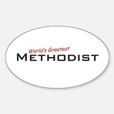 Great Methodist Oval Decal