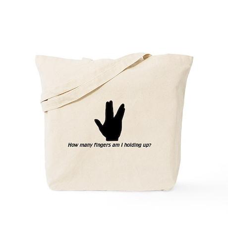 Vulcan Sign Tote Bag