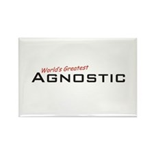 Great Agnostic Rectangle Magnet (10 pack)