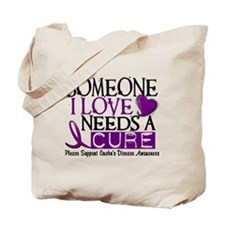 Needs A Cure CROHNS (L1) Tote Bag