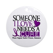 Needs A Cure CROHNS (L1) Ornament (Round)
