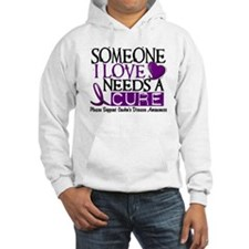 Needs A Cure CROHNS (L1) Hoodie
