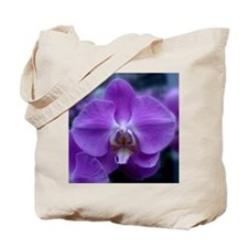 Purple Orchid flower gifts Tote Bag
