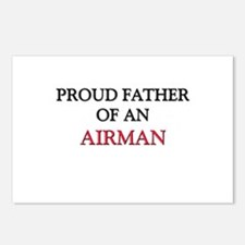 Proud Father Of An AIRMAN Postcards (Package of 8)