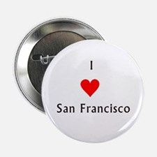 I love San Francisco Button