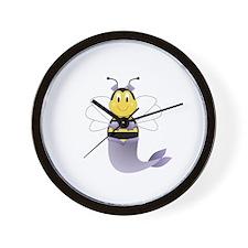 MerBee Bumble Bee Wall Clock