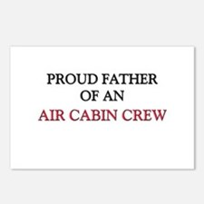 Proud Father Of An AIR CABIN CREW Postcards (Packa