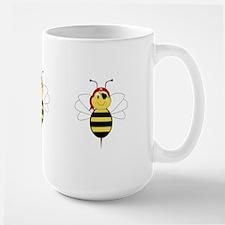 Arrr!Bee Bumble Bee Large Mug