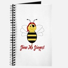 Shiver Me Stingers Journal