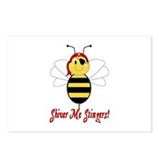 Shiver Me Stingers Postcards (Package of 8)