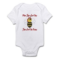 Where There Arrr! Bees Infant Bodysuit