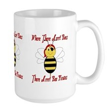 Where There Arrr! Bees Mug