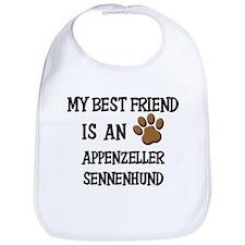 My best friend is an APPENZELLER SENNENHUND Bib