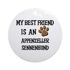 My best friend is an APPENZELLER SENNENHUND Orname
