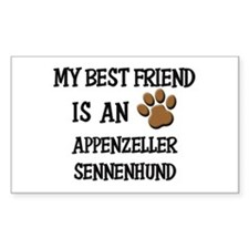 My best friend is an APPENZELLER SENNENHUND Sticke