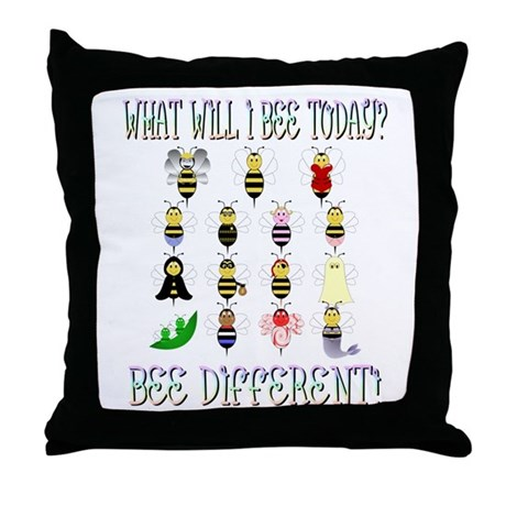 What Will I Bee Today Throw Pillow