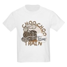 Choo-Choo Train Kids T-Shirt
