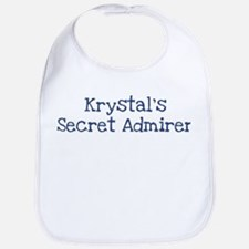 Krystals secret admirer Bib