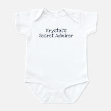 Krystals secret admirer Infant Bodysuit