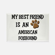 My best friend is an AMERICAN FOXHOUND Rectangle M