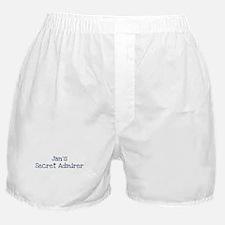 Jans secret admirer Boxer Shorts