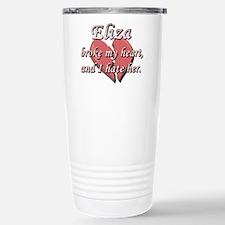 Eliza broke my heart and I hate her Travel Mug