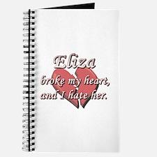 Eliza broke my heart and I hate her Journal
