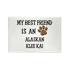 My best friend is an ALASKAN KLEE KAI Rectangle Ma