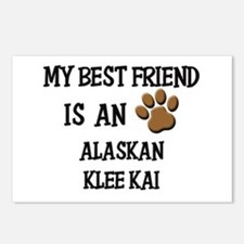 My best friend is an ALASKAN KLEE KAI Postcards (P