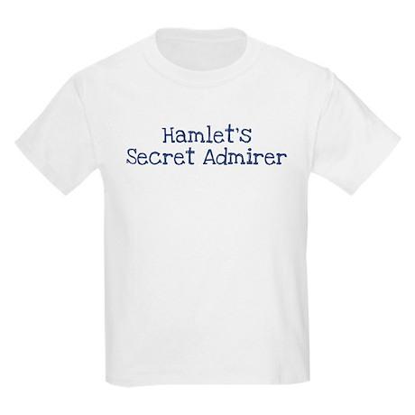Hamlets secret admirer Kids Light T-Shirt