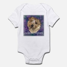 """Norfolk Terrier """"Sassy"""" Infant Bodysuit"""