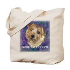 "Norfolk Terrier ""Sassy"" Tote Bag"