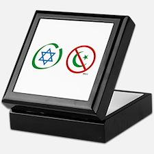 Israel, Not Islam Keepsake Box