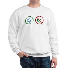 Israel, Not Islam Sweatshirt
