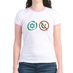 Israel, Not Islam Jr. Ringer T-Shirt