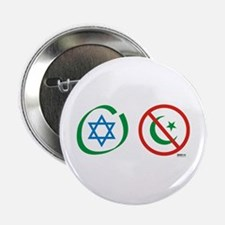 Israel, Not Islam Button