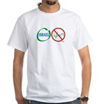 Israel, Not Islam White T-Shirt