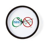 Israel, Not Islam Wall Clock