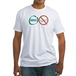Israel, Not Islam Fitted T-Shirt