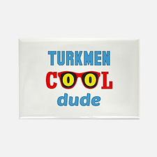 Turkmen Cool Dude Rectangle Magnet